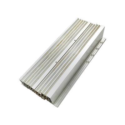 Heavy aluminium drawer slides single pull slide way