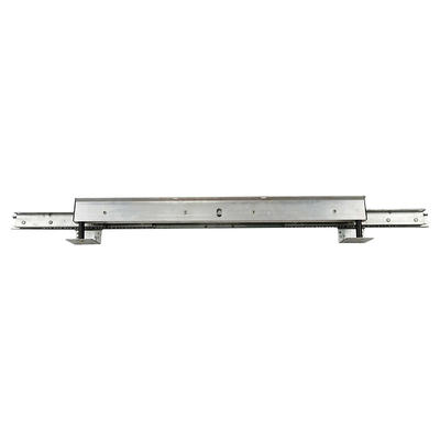 Light automatic drawer runners for dining table slide
